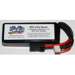 SPC LiPo Power, Lithium Polymer (LiPo) Battery Pack; 1500mAh, 30C, 3S, 11.1V Soft-Case