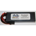 SPC LiPo Power, Lithium Polymer (LiPo) Battery Pack; 5000mAh, 40C, 2S, 7.4V Hard-Case
