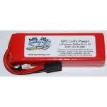 SPC LiPo Power, Lithium Polymer (LiPo) Battery Pack; 5000mAh, 50C, 3S, 11.1V Soft-Case