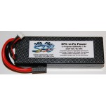 SPC LiPo Power, Lithium Polymer (LiPo) Battery Pack; 6500mAh, 65C, 2S, 7.4V Hard-Case