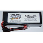 SPC LiPo Power, Lithium Polymer (LiPo) Battery Pack; 6500mAh, 65C, 4S, 14.8V Hard-Case
