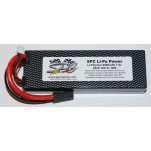SPC LiPo Power, Lithium Polymer (LiPo) Battery Pack; 7200mAh, 70C, 2S, 7.4V Hard-Case