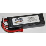 SPC LiPo Power, Lithium Polymer (LiPo) Battery Pack; 7200mAh, 70C, 2S, 7.4V Hard-Case, Deans