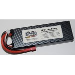 SPC LiPo Power, Lithium Polymer (LiPo) Battery Pack; 5000mAh, 40C, 2S, 7.4V Hard-Case, Deans