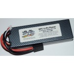 SPC LiPo Power, Lithium Polymer (LiPo) Battery Pack; 5000mAh, 40C, 2S, 7.4V Hard-Case, Traxxas