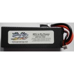 SPC LiPo Power, Lithium Polymer (LiPo) Battery Pack; 5000mAh, 50C, 2S, 7.4V Hard-Case