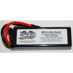 SPC LiPo Power, Lithium Polymer (LiPo) Battery Pack; 5000mAh, 50C, 3S, 11.1V Hard-Case