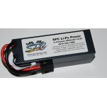 SPC LiPo Power, Lithium Polymer (LiPo) Battery Pack; 5000mAh, 50C, 4S, 14.8V Hard-Case
