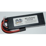 SPC LiPo Power, Lithium Polymer (LiPo) Battery Pack; 5000mAh, 50C, 2S, 7.4V Hard-Case, Traxxas