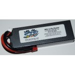SPC LiPo Power, Lithium Polymer (LiPo) Battery Pack; 5200mAh, 70C, 2S, 7.4V Hard-Case, Deans