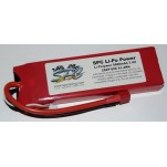 SPC LiPo Power, Lithium Polymer (LiPo) Battery Pack; 5600mAh, 60C, 2S, 7.4V Soft-Case, Deans