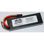 SPC LiPo Power, Lithium Polymer (LiPo) Battery Pack; 6000mAh, 80C, 2S, 7.4V Hard-Case, Traxxas