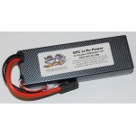 SPC LiPo Power, Lithium Polymer (LiPo) Battery Pack; 6500mAh, 65C, 2S, 7.4V Hard-Case, Traxxas