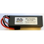 SPC LiPo Power, Lithium Polymer (LiPo) Battery Pack; 7200mAh, 70C, 3S, 11.1V Hard-Case