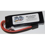 SPC LiPo Power, Lithium Polymer (LiPo) Battery Pack; 8200mAh, 50C, 2S, 7.4V Soft-Case, Traxxas